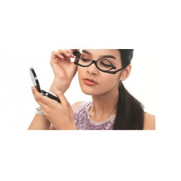Brazil Leopard Hot Selling Fashion Womens Cosmetic Makeup Reading Glasses Rotatable Lens A Must Have For Doing Makeup