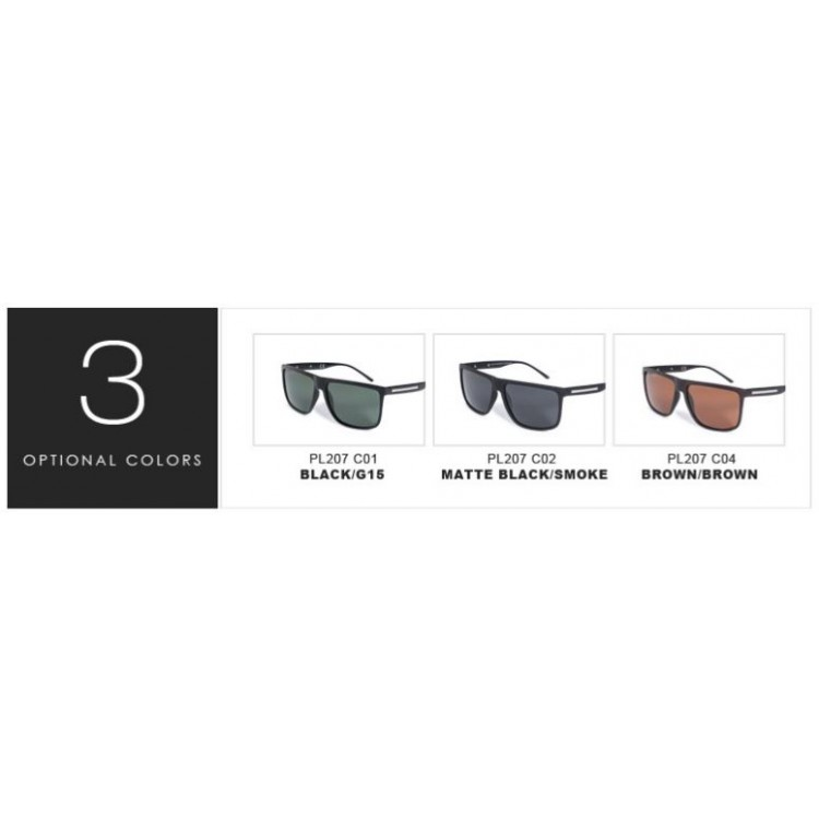 b8268310754d0 Classic Designer Fashion Black Sunglasses For Men Polarized Driving Shades  Full UV400 Protection Includes Soft Glass Case And Lens Cloth High Quality