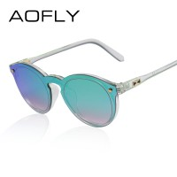 High Fashion Oval Mirror Reflective Candy Color Womens Sunglasses Full UV400 Protection High Quality