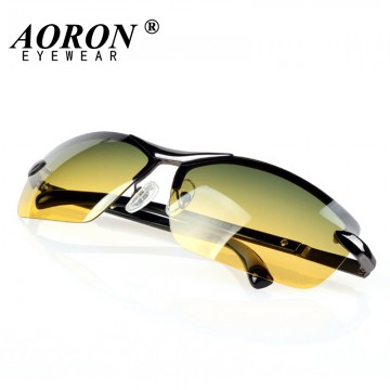 Day & Night Vison Multifunction Men s Polarized Sunglasses Reduce Glare When Driving Comes With Full Carrying Case/Lens Cloth Full UV400 Protection Excellent Quality32216265477