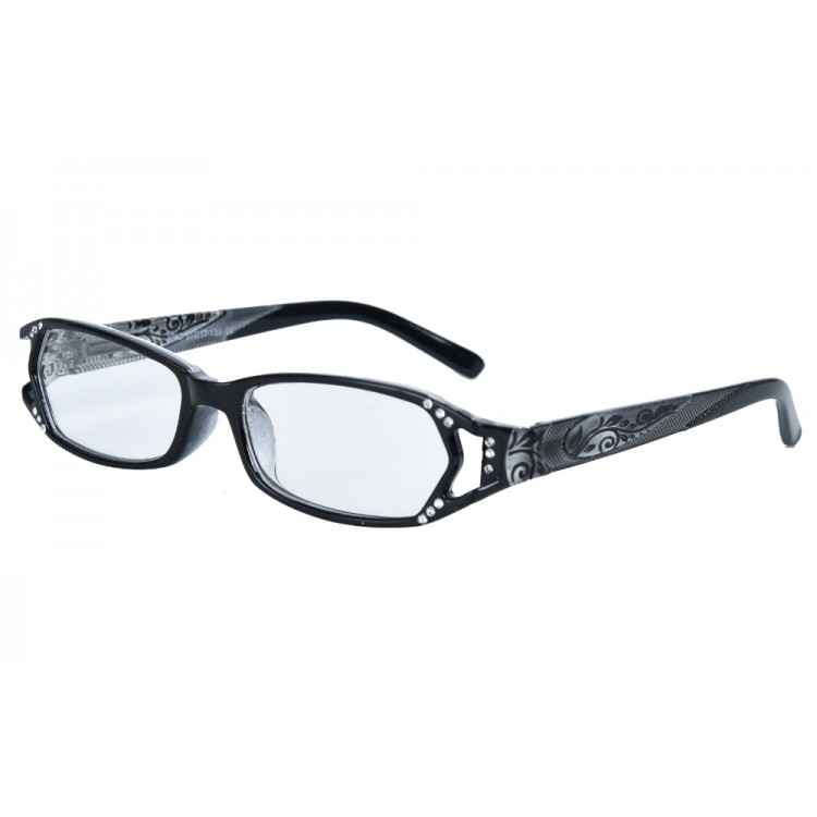 a3549f010c1b Hot Seller Designer High Fashion Quality Womens Reader Glasses Spring  Hinges With Rhinestones