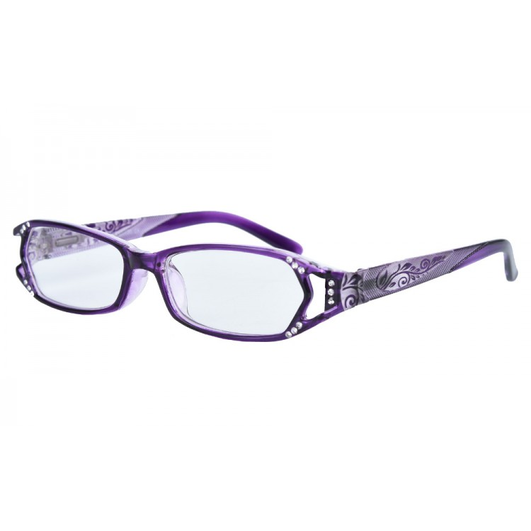 0f25e6a428a Hot Seller Designer High Fashion Quality Womens Reader Glasses Spring  Hinges With Rhinestones