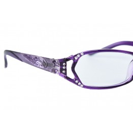 Hot Seller Designer High Fashion Quality Womens Reader Glasses Spring Hinges With Rhinestones
