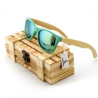 Fashion Designer Hot Seller Unisex Bamboo Polarized Wood Sunglasses With Pouch And Wood Carrying And Storage Case Included