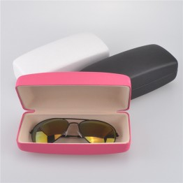 2017 New Big Square High Fashion Leather Sunglass Hard Case For Women Very Durable And Very High Quality