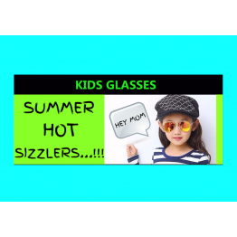 New Hot Seller High Fashion Kids Sunglasses Aviator Style UV400 Protection
