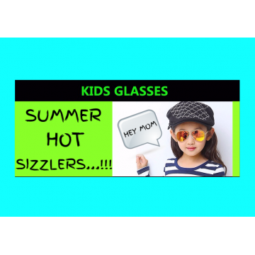 New Hot Seller High Fashion Kids Sunglasses Aviator Style UV400 Protection32620161349