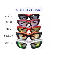 NEW Great Quality Sports Glasses Men/Women Cycling Track Outdoors Sports Very Durable Available in 5 Colors