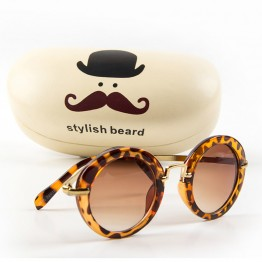 DRESSUUP Trending New High Fashion High Quality Kids Sunglasses Vintage Round Lenses UV400 Protection