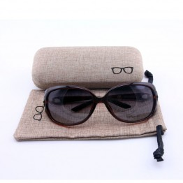 2017 Fashion Designer Linen Hard Sunglasses Case For Both Men And Women Very High Quality And Includes Cloth Cover Bag