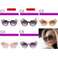 2017 Luxury Fashion Designer Diamond Cat Eye Unique Womens Sunglasses UV400
