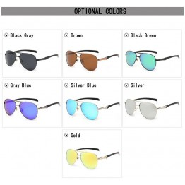 High Quality Polarized Mirror SunGlasses Men/Women Driving Fishing Running Outdoor Sports Full UV Protection Includes Hard Carrying Case Lens Cloth 7 Colors Available