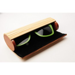 2017 Hot High Fashion Original Wooden Bamboo Sunglasses Case For Men And Women Very High Quality Very Detailed