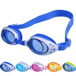 Hot Product Kids Swimming Goggles For Boys/Girls Anti-fog Swim Glasses Fully Adjustable Comes In 5 Colors Great Quality