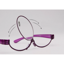 Cosmetic High Quality Makeup Eyeglasses With Rotatable Lens A Must For Doing Your Makeup Comes In Red Purple Blue And Various Reading Degrees