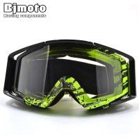 Hot Seller Professional Very High Quality Clear Lens Goggles Men/Women Offroad Ski Skate Snowboard Motocross Motorcycle Dirt Bike ATV Cafe Racing Outdoor Sports