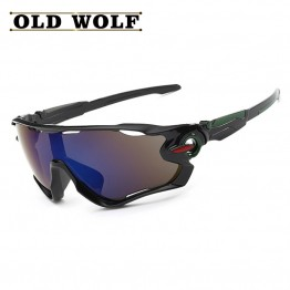 Mens Fashion Trend High Quality Vintage Sports Sunglasses UV400 Protection