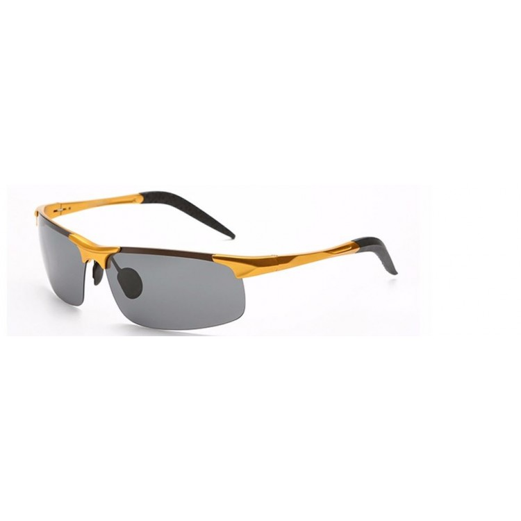 d0214869d2 Hot Luxury Mens Sunglasses Polarized Outdoor Sports Full UV400 Protection  Aluminum Magnesium Alloy Frame High Quality