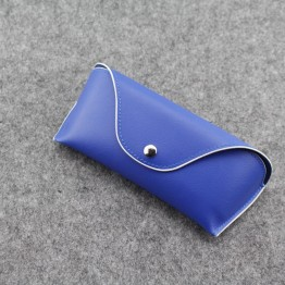 New Luxury High Fashion Designer Soft Leather Sunglass/Eyeglass Case For Women And Men Available In 2 Colors Excellent Quality